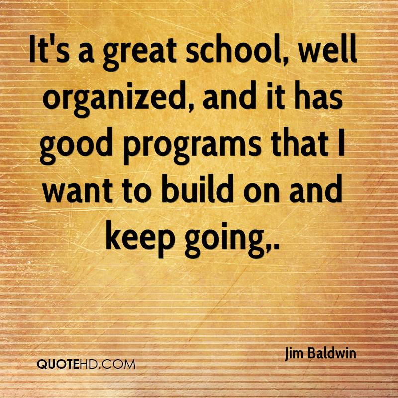 its a great school well organized and it has good programs that i want