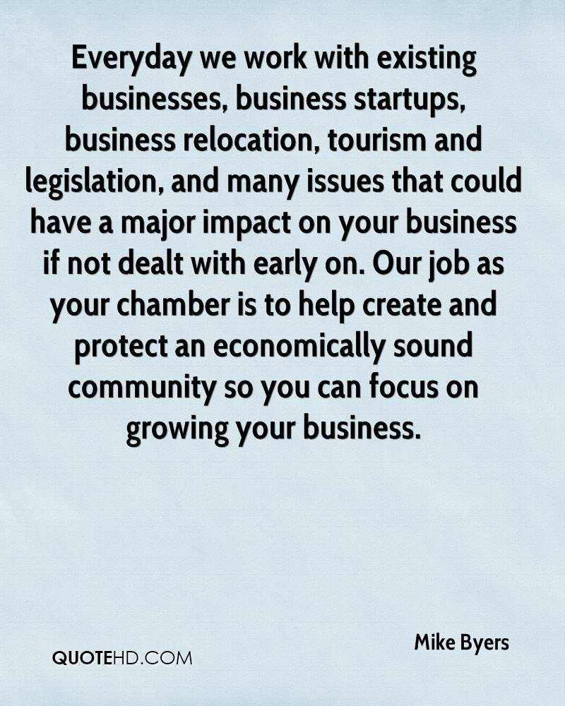 Everyday we work with existing businesses, business startups, business relocation, tourism and legislation, and many issues that could have a major impact on your business if not dealt with early on. Our job as your chamber is to help create and protect an economically sound community so you can focus on growing your business.