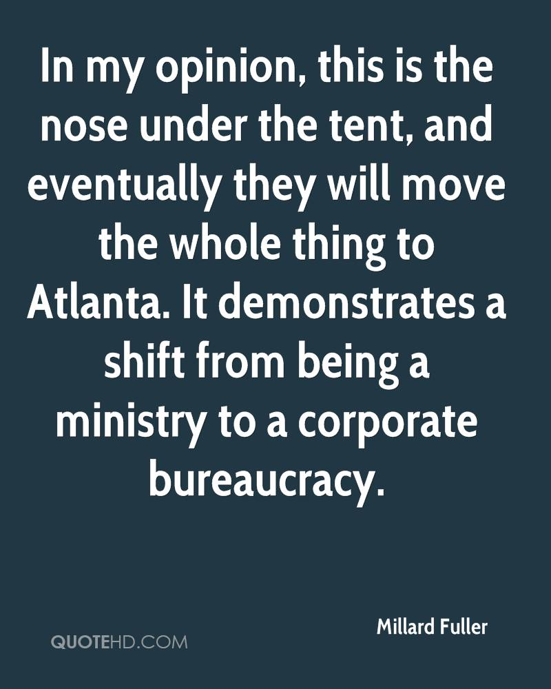 In my opinion, this is the nose under the tent, and eventually they will move the whole thing to Atlanta. It demonstrates a shift from being a ministry to a corporate bureaucracy.
