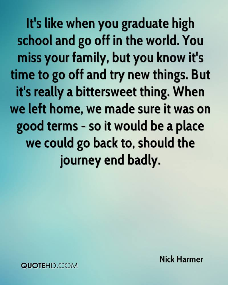 Time To Go Home Quotes: Nick Harmer Quotes