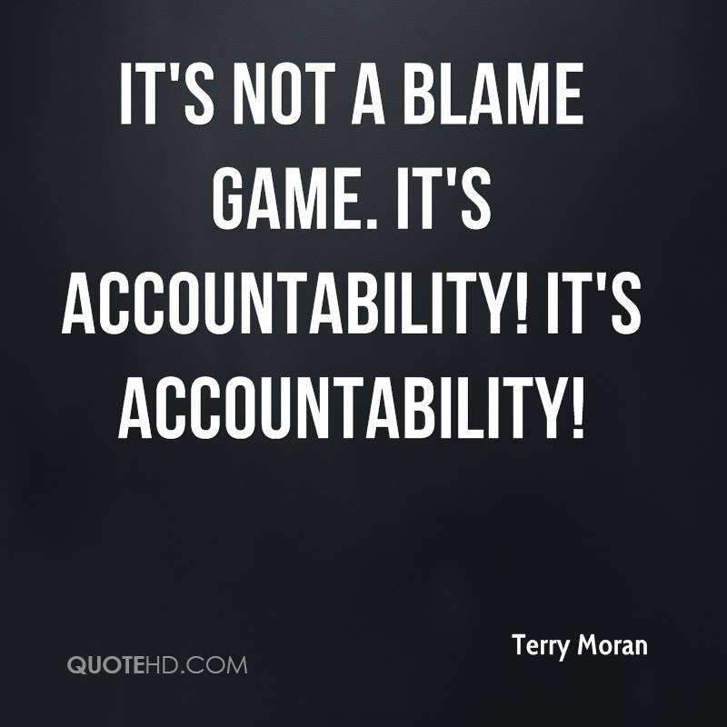 Accountability Quotes Awesome Accountability Quotes Page 48 QuoteHD