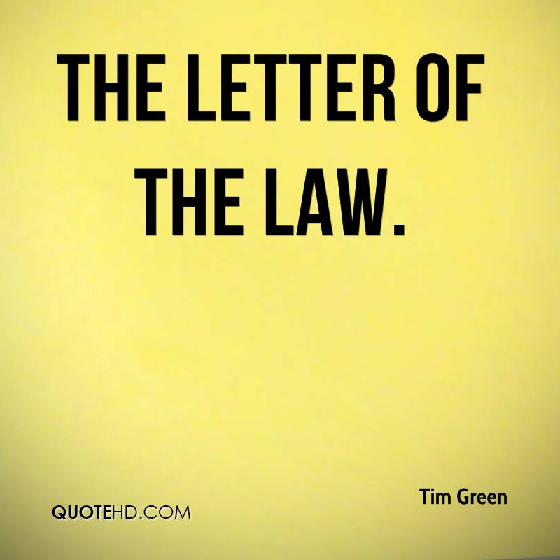 Download PDF The Letter of the Law
