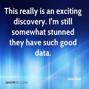 Alan Boss - This really is an exciting discovery. I'm still somewhat stunned they have such good data.