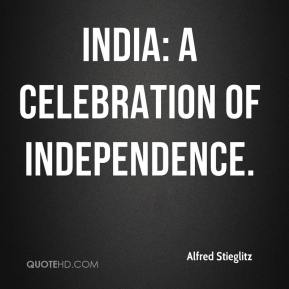 India: A Celebration of Independence.