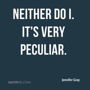 Neither do I. It's very peculiar.