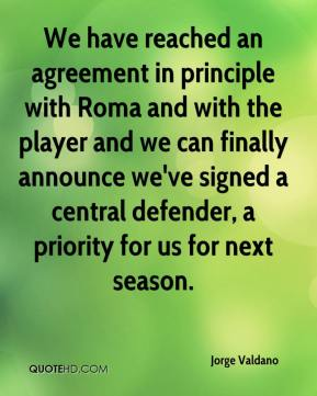 We have reached an agreement in principle with Roma and with the player and we can finally announce we've signed a central defender, a priority for us for next season.