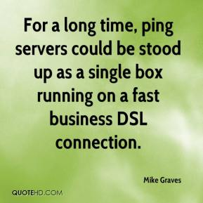 For a long time, ping servers could be stood up as a single box running on a fast business DSL connection.