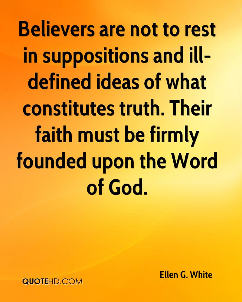 Ellen G  White Faith Quotes | QuoteHD