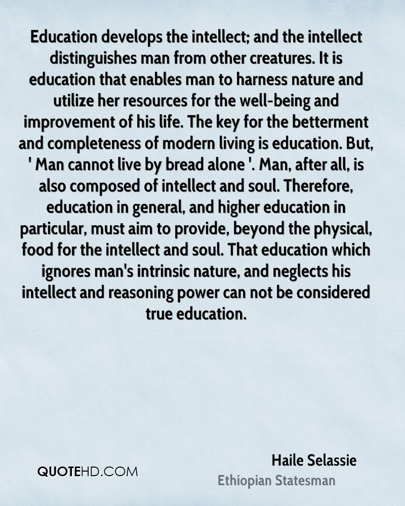 Education And Life Quotes Haile Selassie Life Quotes  Quotehd