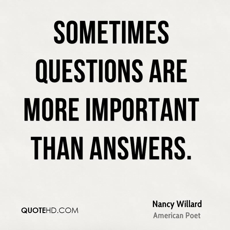 Nancy Willard Quotes QuoteHD Awesome Quotes Questions