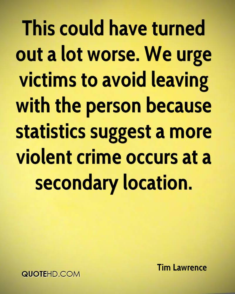 This could have turned out a lot worse. We urge victims to avoid leaving with the person because statistics suggest a more violent crime occurs at a secondary location.