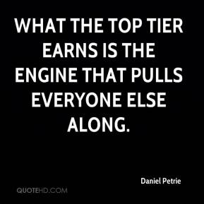 What the top tier earns is the engine that pulls everyone else along.