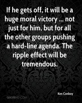 If he gets off, it will be a huge moral victory ... not just for him, but for all the other groups pushing a hard-line agenda. The ripple effect will be tremendous.
