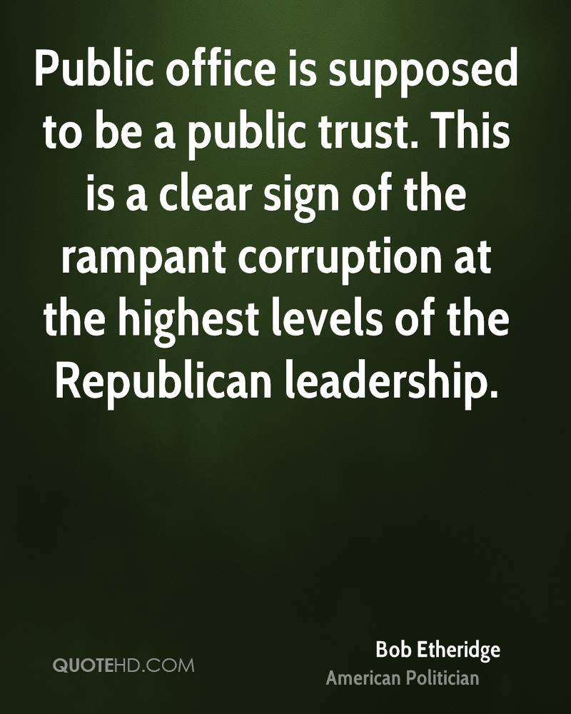 """public office is a public trust essay Some of these values are relevant in public office and some are not """"betrayal of public trust essay example   topics and well written essays."""