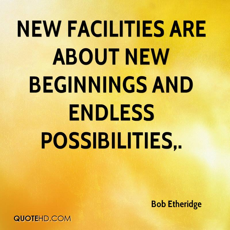 Great Quotes About New Beginnings: Bob Etheridge Quotes