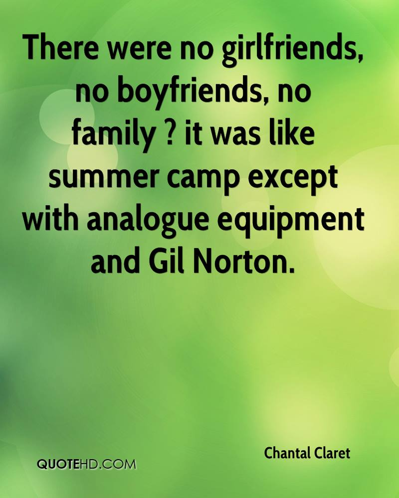 There were no girlfriends, no boyfriends, no family ? it was like summer camp except with analogue equipment and Gil Norton.