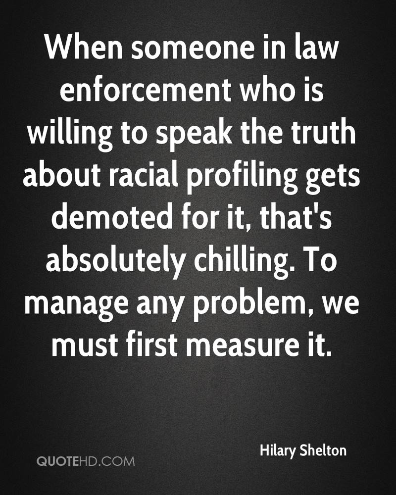 racial profiling problem or solution Racial profiling29 part iv examines the inefficiencies of the current solutions for racial profiling, while providing practical solutions for a problem that has become drowned in theory.