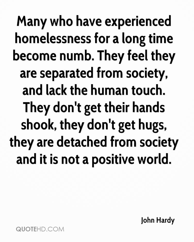 Quotes About Homelessness Fascinating John Hardy Quotes  Quotehd