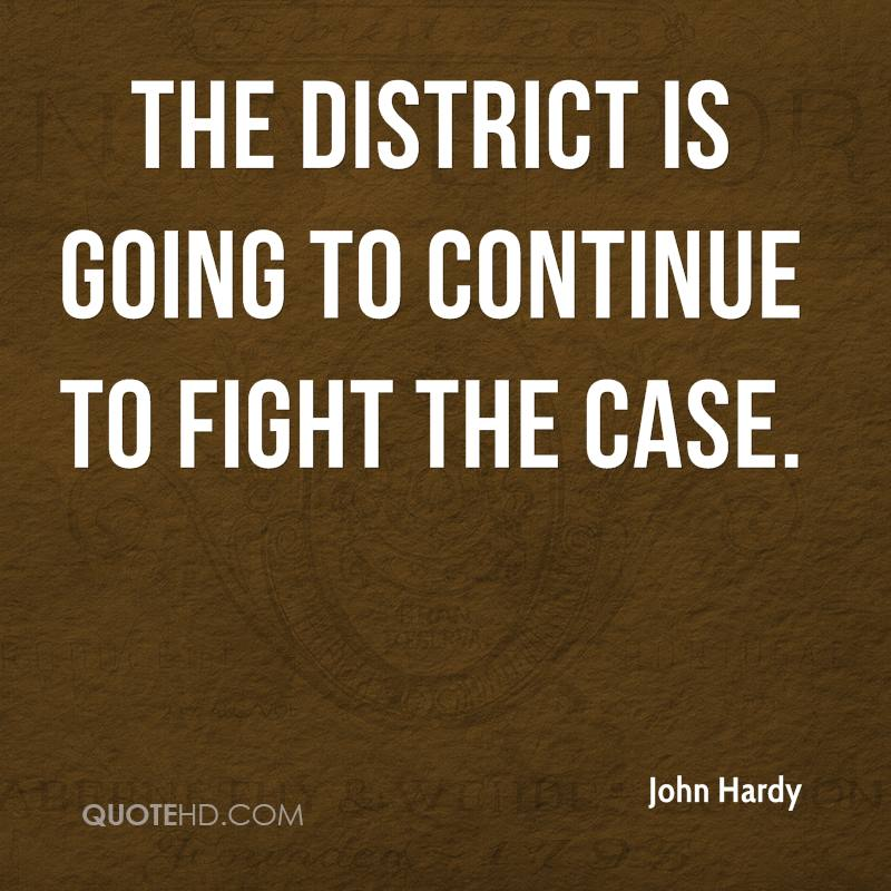The district is going to continue to fight the case.