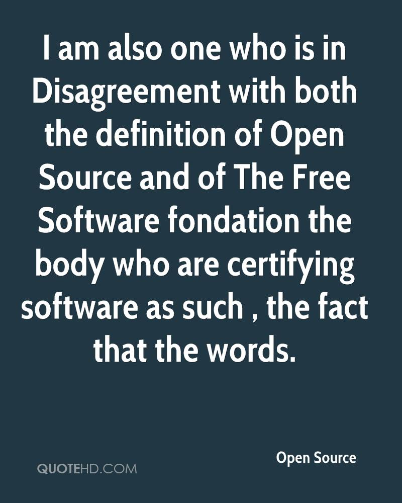 Open Source Quotes | QuoteHD