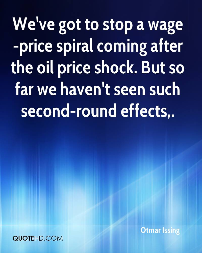 Oil Price Quote Otmar Issing Quotes  Quotehd