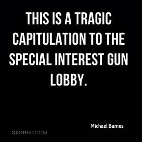 This is a tragic capitulation to the special interest gun lobby.