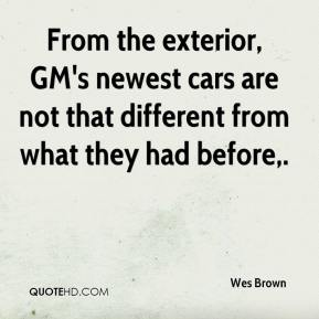 From the exterior, GM's newest cars are not that different from what they had before.