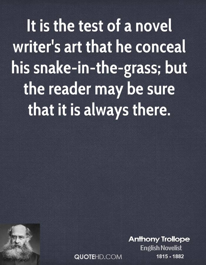 Anthony Trollope Art Quotes Quotehd