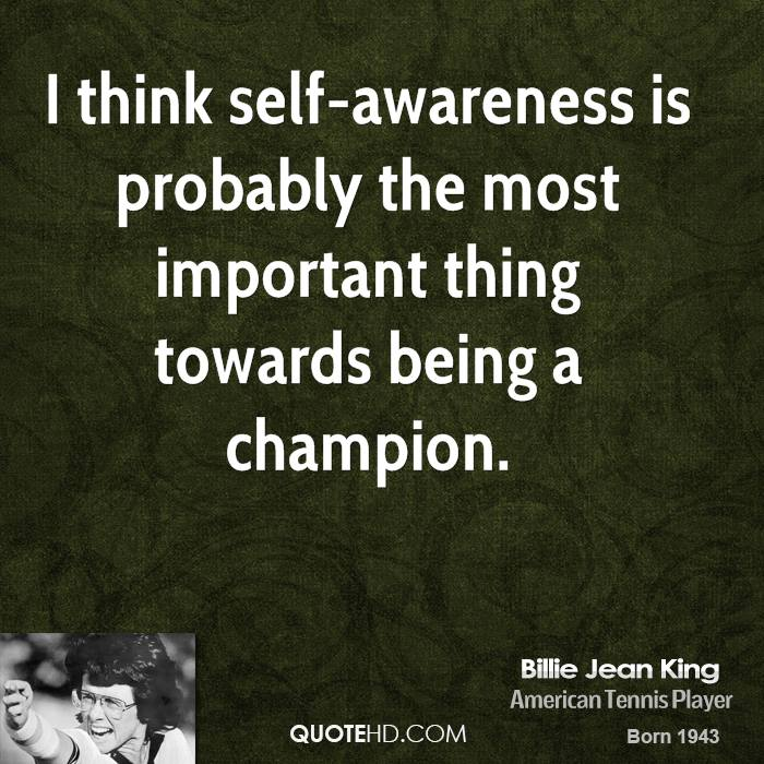 Quotes By Athletes About Self Awareness. QuotesGram