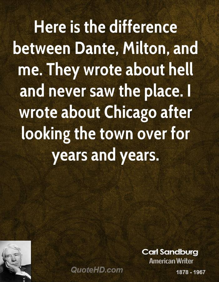 dantes and miltons hell Both milton and dante were intensely partisan writers who expanded their  worldly conflicts into the eternal realms of heaven and hell.