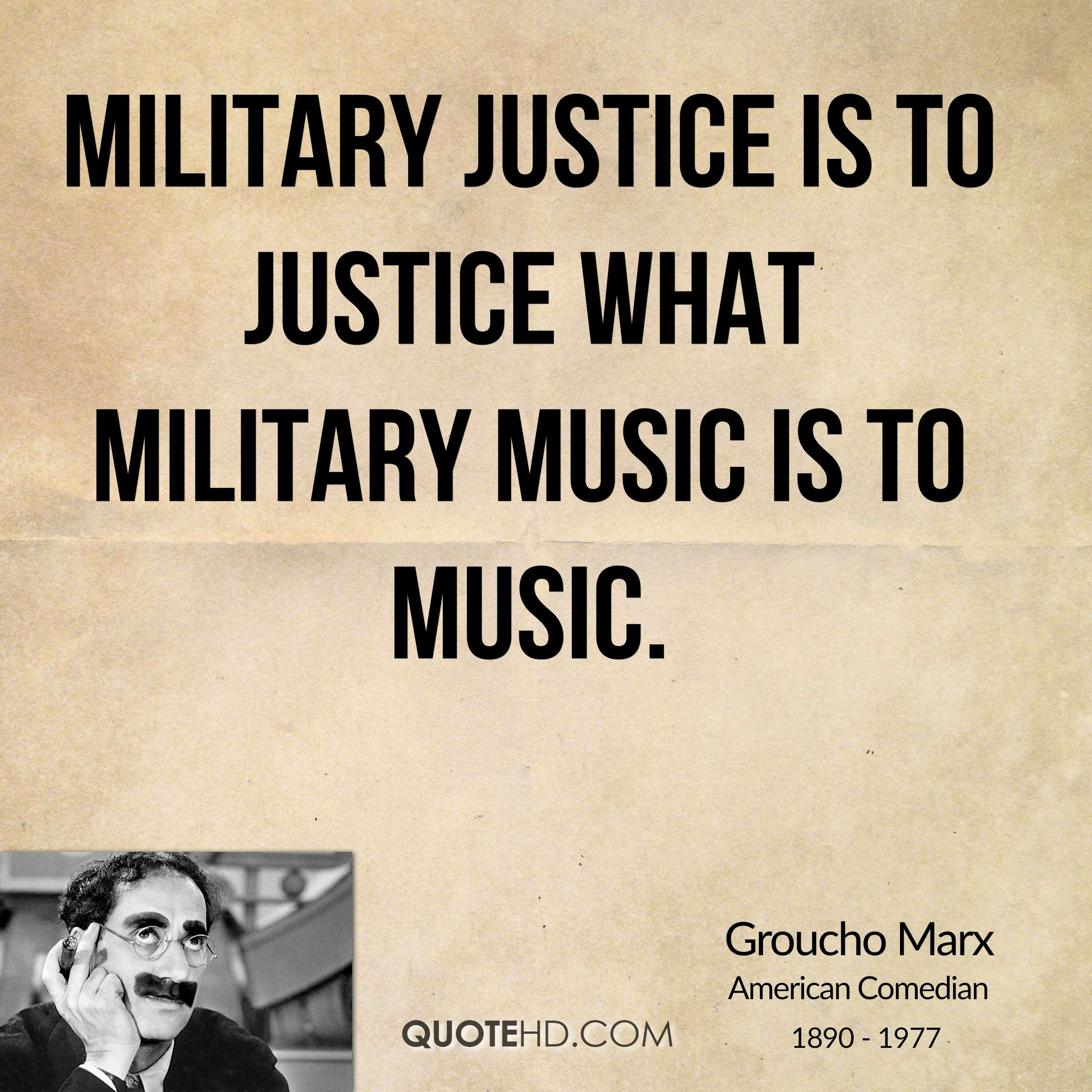 Groucho Marx Music Quotes