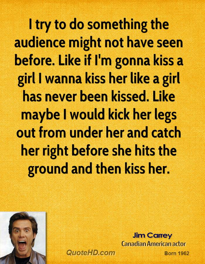 how to try to kiss a girl
