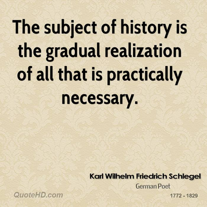 history subjective Against the hegelians, nietzsche rejects efforts to systemize history within  of  the subjective and necessarily temporal judgments of history, schopenhauer,.