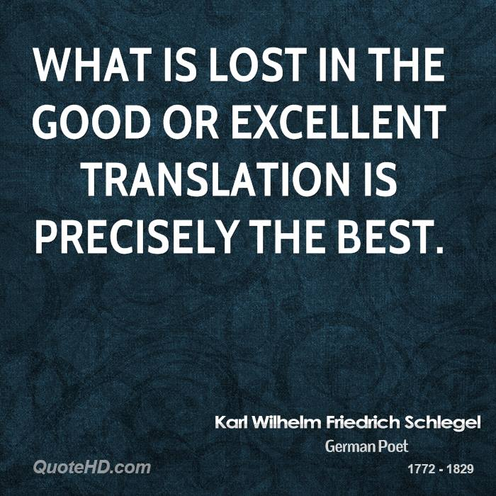 what is lost in translation from The statement lost in translation is used when the english translation of a word or phrase does not convey it's true or complete meaning a good example of this is the german word weltanschauung the english translation is worldview.