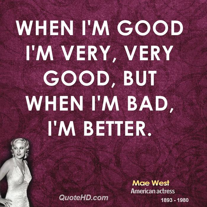 Very Great Quotes: From Mae West Quotes. QuotesGram