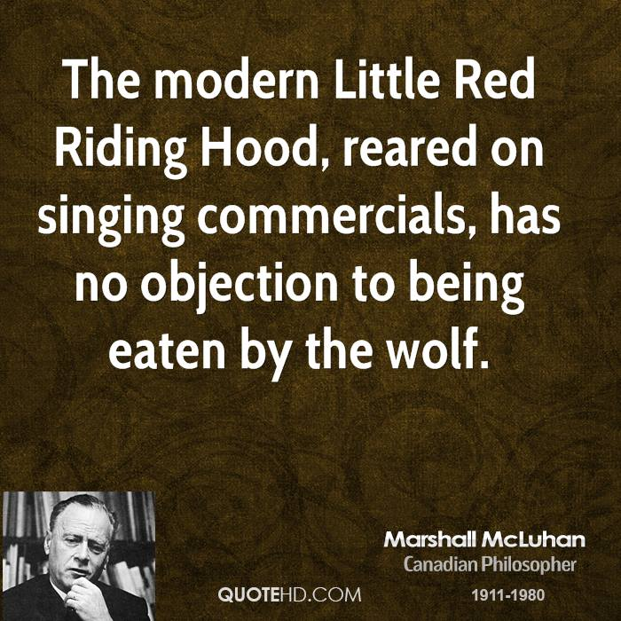 Marshall McLuhan Quotes | QuoteHD