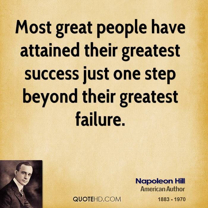 Great Quotes About Success Gorgeous Napoleon Hill Success Quotes  Quotehd