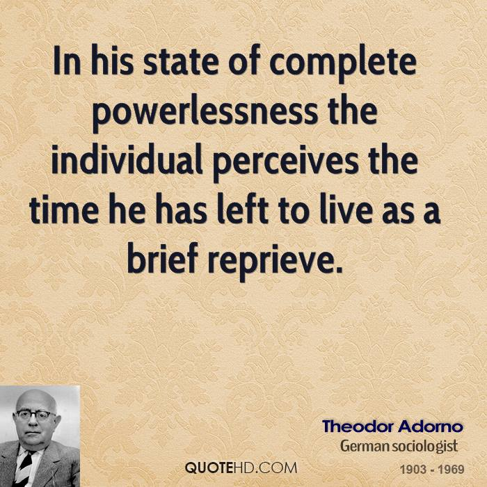 power vs powerlessness essay This essay proposes i consider this a radical idea because it attacks the root cause of poverty: powerlessness lack of power poverty and powerlessness.