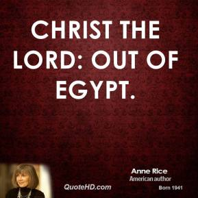 Christ the Lord: Out of Egypt.