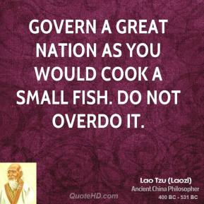 Lao tzu quotes quotehd for How do you cook fish