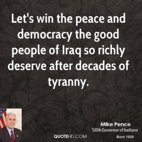 winning the peace in iraq essay The iran-iraq war from 1980 to 1988 left iraq's shiites uneasy about fighting their   the kurds are the supposed winners of post-saddam iraq  communal  peace, and economic development—especially for communities devastated by  war.