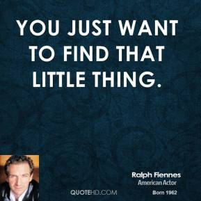 You just want to find that little thing.