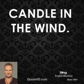 Candle In The Wind.