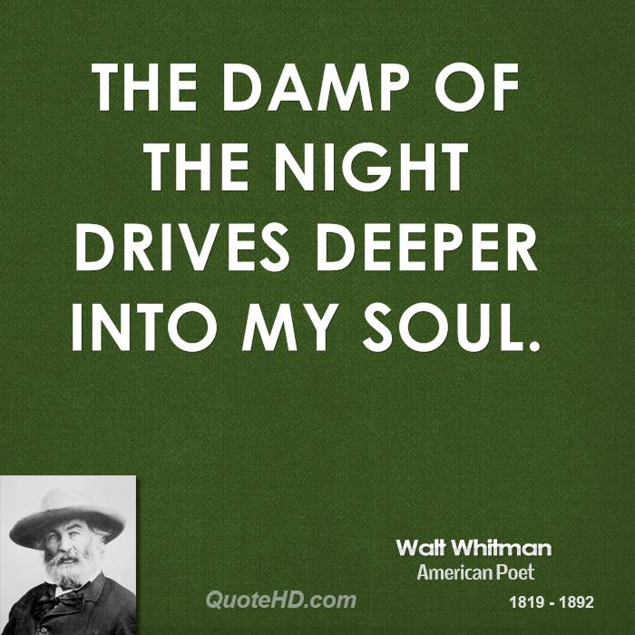 The damp of the night drives deeper into my soul.