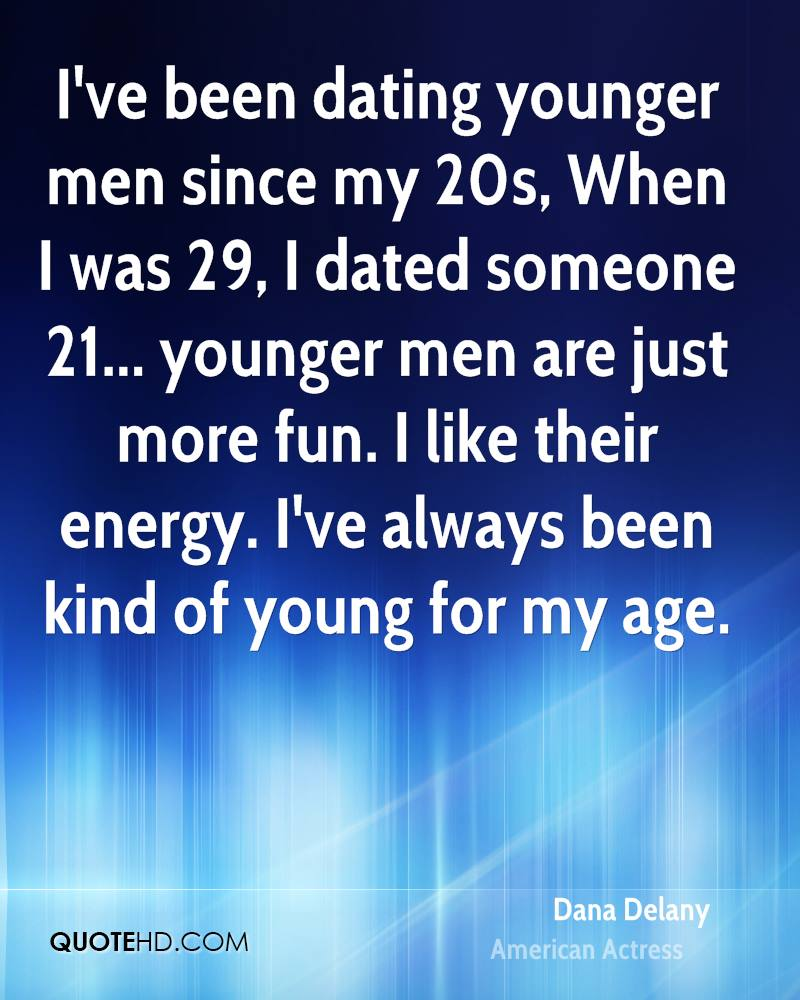 Dating men