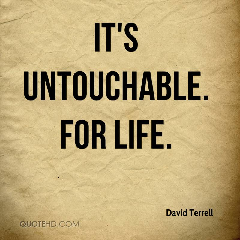 Untouchable Quotes - Page 1 | QuoteHD