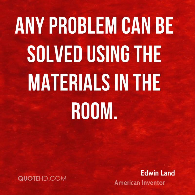 The Room Quotes | Edwin Land Quotes Quotehd