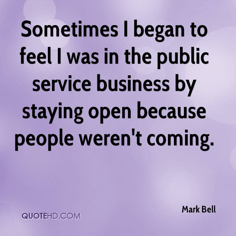 Mark Bell Quotes | QuoteHD
