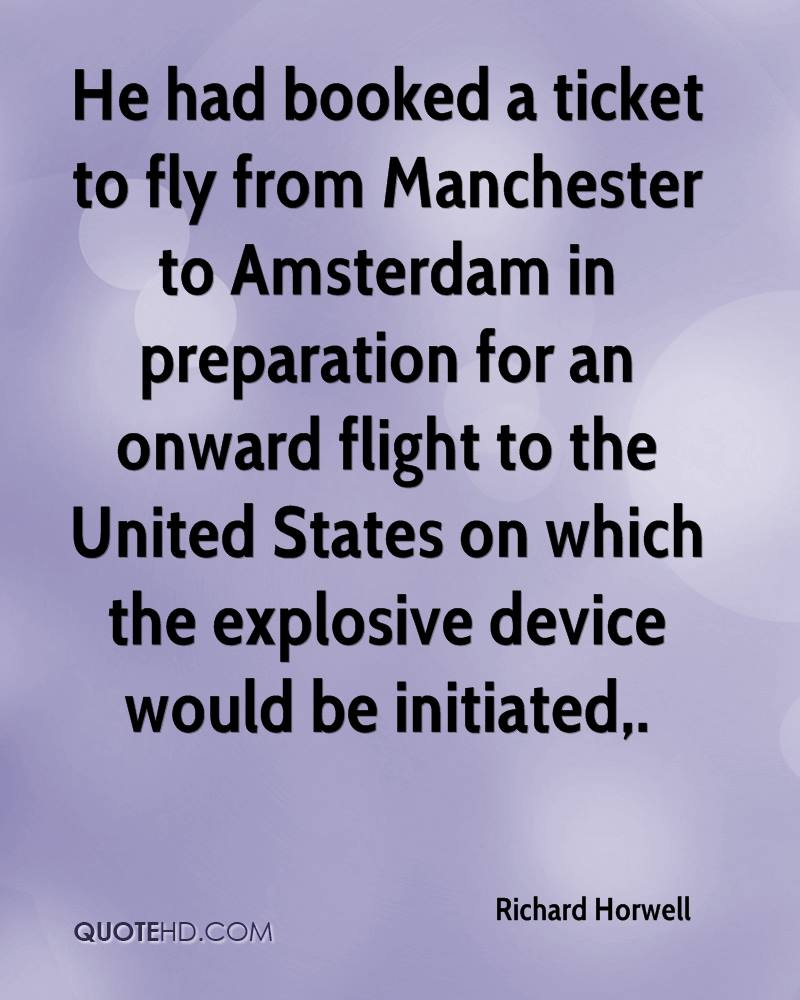 Amsterdam Quotes Richard Horwell Quotes  Quotehd