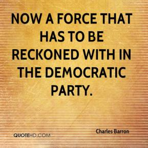 Charles Barron - now a force that has to be reckoned with in the Democratic Party.